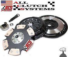 ACS STAGE 4 CLUTCH KIT+CHROMOLY RACE FLYWHEEL 92-00 HONDA CIVIC 1.5L 1.6L SOHC