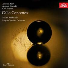 ANTON¡N KRAFT, ANTON¡N VRANICKY, CARL STAMITZ: CELLO CONCERTOS USED - VERY GOOD