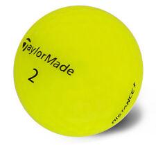 "2 DOZEN (24) TaylorMade Yellow "" Distance+""  MINT Condition Golf Balls AAAAA+"