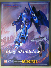 Transformers X-Transbots MX-II Andras Masterpiece Plague in Stock