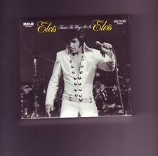 ELVIS PRESLEY LEGACY RCA CD THAT'S THE WAY IT IS LEGACY EDITION NOW DELETED
