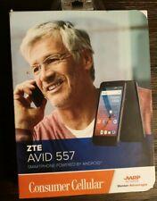 New ZTE Avid 557 Smartphone for Consumer Cellular