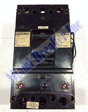 Ja21251021 Westinghouse Type Ja Shunt-Trip Circuit Breaker 2 Pole 125 Amp 600V