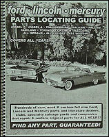Find Buick Parts with a book 1946 1947 1948 1949 1950 1951 1952 1953 1954 1955