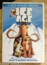 Ice Age (DVD, 2002, 2-Disc Set) Papa Johns Promo! Tested! Works!