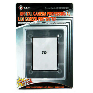 GGS LCD Glass Pro Screen Protector for Canon EOS 7D USA