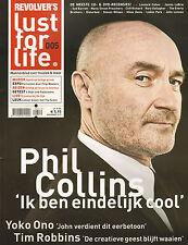 MAGAZINE LUST FOR LIFE 2010 nr. 05 - YOKO ONO / PHIL COLLINS / OPETH/TIM ROBBINS