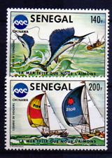 SENEGAL 581-82 MH  Cv € 8.50 vissen Fish Fisch 1091