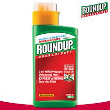Roundup Unkrautfrei 400ml AC Konzentrat Hahnenfuß Vogelmiere Kratzdistel Quecke