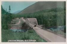 Photo. ca 1949. Creston, BC Canada. Goat River Bridge