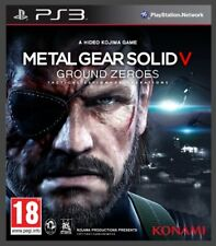 B00grmmqdy-konami Metal Gear Solid V Ground Zeroes Ps3 Edizione Regno Unito