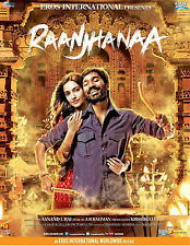 RAANJHANAA - BRAND NEW BOLLYWOOD SOUNDTRACK CD - A R REHMAN