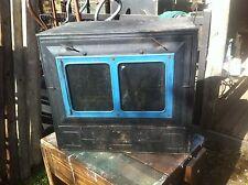 Vtg Primitive New Progress Camp wood Stove Oven Roaster Steam Punk Desk Organize
