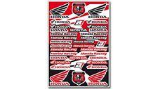BLACKBIRD KIT ADESIVI STICKERS UNIVERSALI SPONSOR MOTO LOGO HONDA CRF 450 X 2008