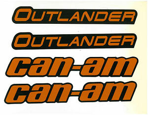 CAN-AM OUTLANDER MUDGUARD DECAL KIT 704904899