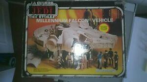 RARE STAR  WARS VINTAGE MILLENIUM FALCON FAUCON MIRO MECCANO BI LOGO 1983