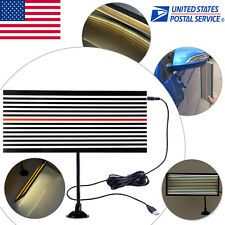 US Paintless Dent Removal LED Line Board PDR Tools USB Light Doctor Hail Repair