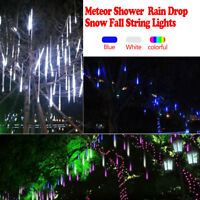 Meteor Shower Falling Star/Rain Drop/Icicle Snow LED Xmas Tree String Light