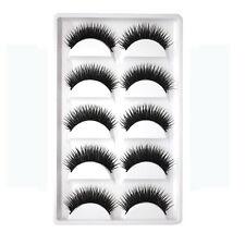 5 Pairs/Pack False Eyelashes Soft Red Cherry Eyelashes Fake Eye Lashes Makeup