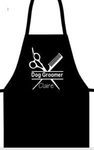 Dog Groomer Personalised Waterproof Apron Dog Gift Pets Scissors Comb Pet