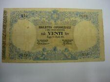 20 LIRE 1874