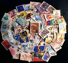 BELGIUM wonderful collection of 115 different stamps, mostly large (Lot#9257NT)