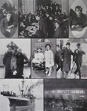 White Star Titanic Survivors Inquiry Mackay-Bennett New York 1912 Photo Article