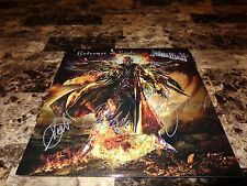 Judas Priest Rare Band Signed Limited Edition Vinyl LP Redeemer Of Souls Metal !