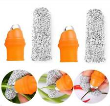 2 Pcs Silicone Thumb Knife Set Fruit and Vegetable Picking Potted Plants Trim