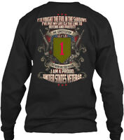 Veteran Recovered 1st Infantry Division - I Am A Gildan Long Sleeve Tee T-Shirt