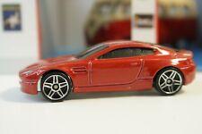 2007 Hot Wheels Aston Martin V8 Vantage Metallic Red Code Car