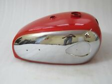 BRAND NEW BSA A7 A10 SUPER ROCKET RED PAINTED CHROMED PETROL TANK @ VINTAGE