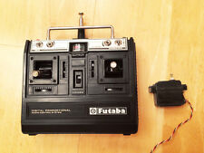 Futaba FP-T4LK 40 Mhz Transmitter + Servo  - Rare Vintage Sanwa Ko Propo