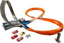 Hot Wheels X2586 Rennstrecke Kinderrennbahn Kurve Spielzeug B-WARE unvollständig