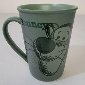 Walt Disney World Green Tigger Coffee Mug Cup Carefree Tenacious Adventurous