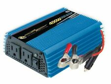Power Bright PW400-12 12v 400 Watt Modified Sine Wave Power Inverter Dual Out