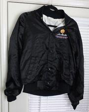 Vintage Los Alamitos Orange County Racing Fair 1990 Nylon Jacket Button Up Lee