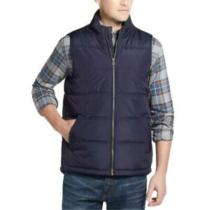 Weatherproof Vintage Mens Quilted Zipper Casual Outerwear Vest BHFO 4312