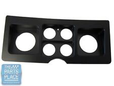 1969 Chevrolet Camaro Billet Aluminum Dash Gage Insert - Black Semi Gloss