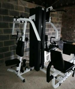 Body Solid Multi Gym 200 Kg Weights, rare hip attachment - Can Deliver