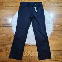 NWT LOFT Women's Blue Julie Straight Leg Pants Size 8