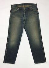 Wrangler jeans uomo usato w33 tg 47 slim denim accorciati boyfriend T3648