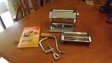 Imperia Pasta Machine   Tipo Lusso SP150 / Linguine / Spaghetti   w/ book