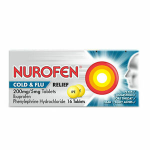 Nurafen Day And Night Cold Flu Tablets - 16