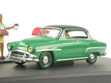 Simca Aronde Grand grün diecast model car Diorama Altaya 1/43