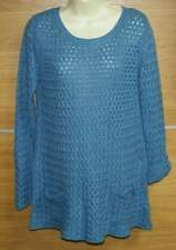 WHITE STUFF blue tunic jumper size 12