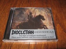 "DIOCLETIAN ""Gesundrian"" CD blasphemy vomitor"