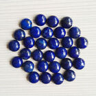 Wholesale natural Lapis Lazuli 8mm round CAB CABOCHON stones beads 50pcs/lot
