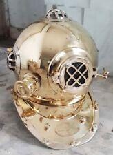 U. S. Navy Divers Diving Helmet Collectible Marine Deep See Desk Helmet.