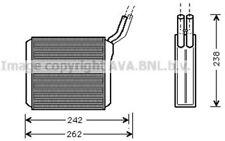 AVA COOLING SYSTEMS Radiador de calefacción OL6205